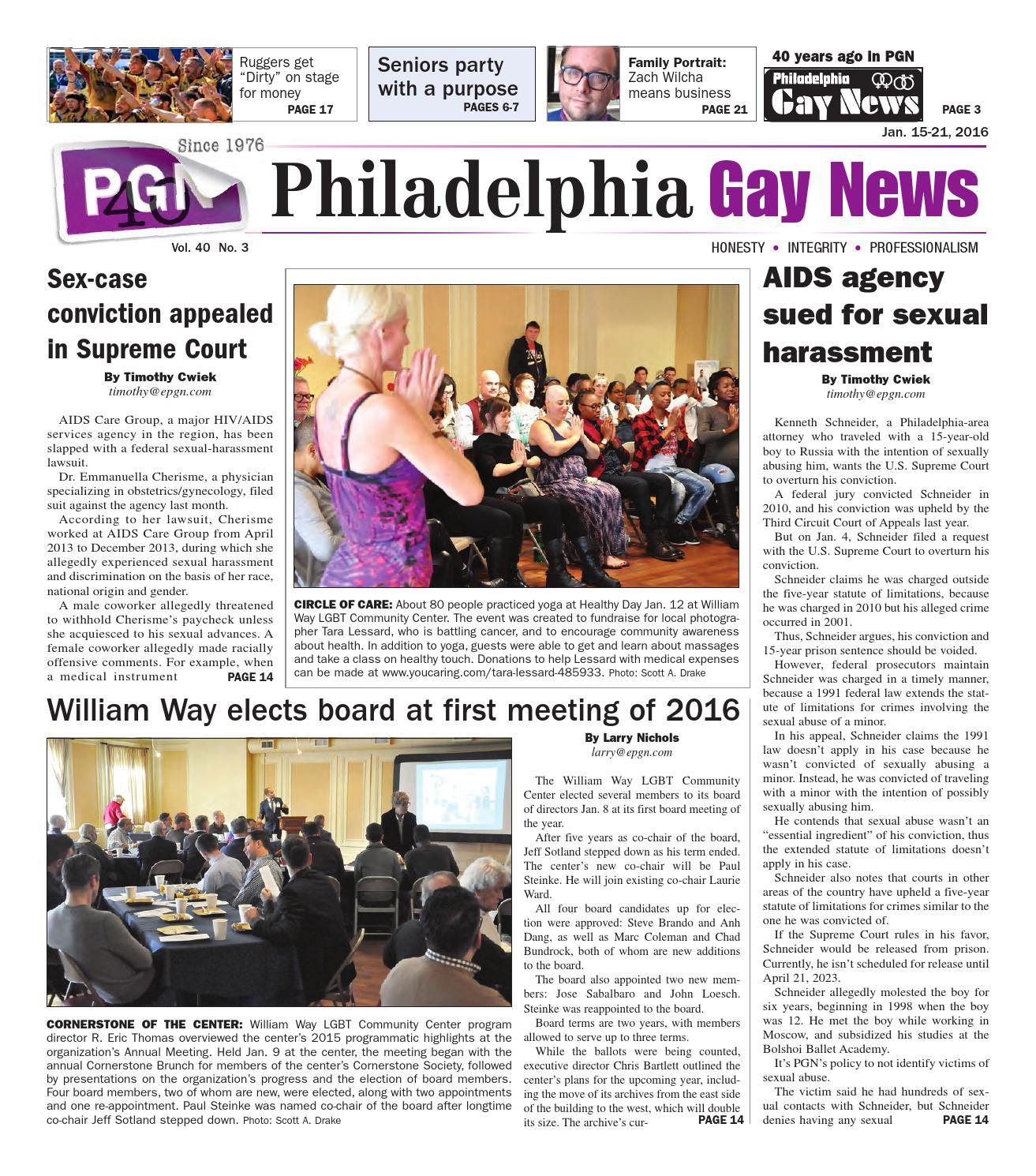 4064da8d84018 PGN Jan.15 - 21. 2016 by The Philadelphia Gay News - issuu
