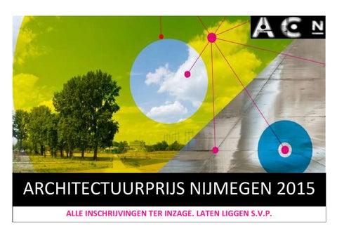 Zwembad West Nijmegen : Architectuurprijs nijmegen 2015 by architectuurcentrum nijmegen issuu