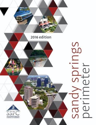 Sandy Springs Perimeter Chamber Guide Membership Directory 2017 By