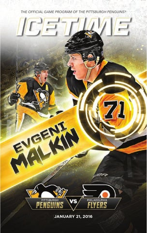 IceTime - Game 23 vs. Philadelphia Flyers 1 21 16 by Pittsburgh ... a9a6167a9