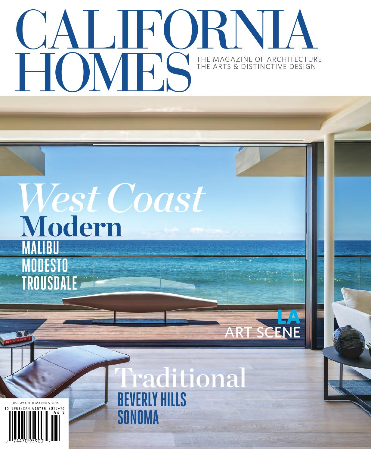 California Homes   Winter 2015 16 By California Homes Magazine   Issuu