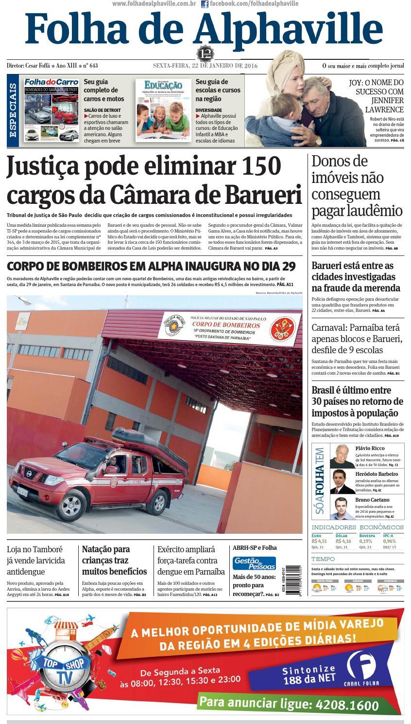 48ec2ae6619 Edicao 643 by Folha de Alphaville - issuu