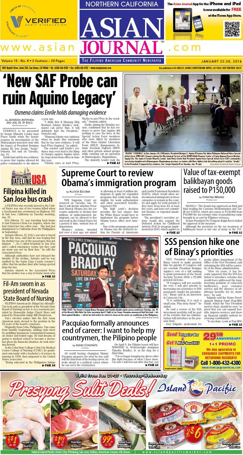san francisco edition january 22 28 2016 by asian