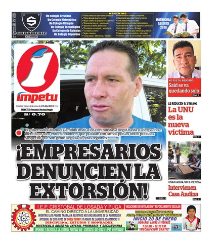 Impetu 22 de enero de 2016 by Diario Ímpetu - issuu 3da4852ec6607