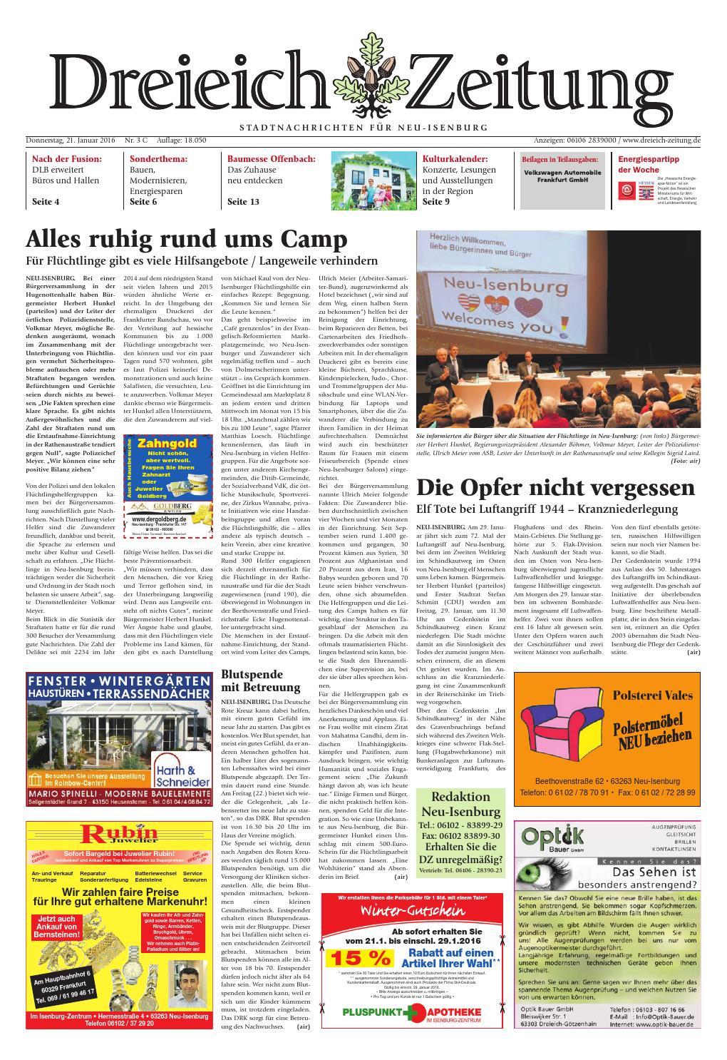 Dz online 003 16 c by Dreieich-Zeitung/Offenbach-Journal - issuu