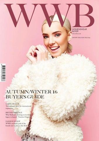 b9fd29c266 WWB MAGAZINE JANUARY ISSUE 252 by fashion buyers Ltd - issuu