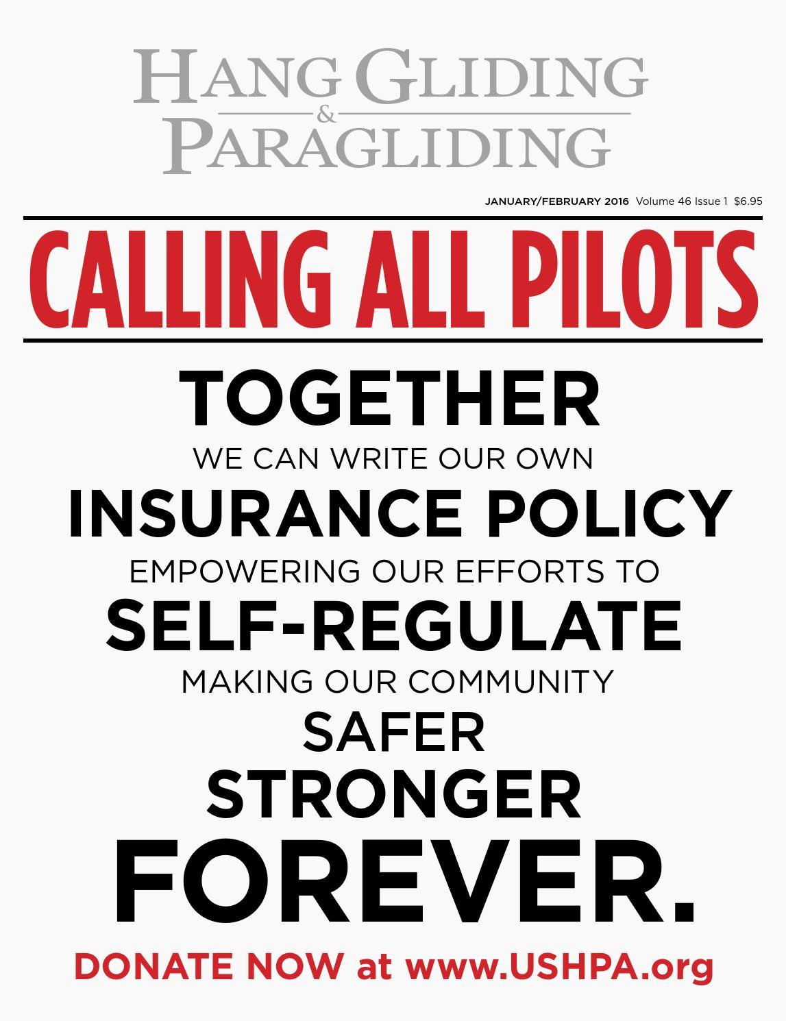 Hang Gliding & Paragliding Vol46-Iss1 Jan-Feb 2016 by US Hang ...