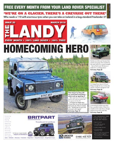 the landy march 2016 by assignment media ltd issuudsm fuse box relocation  furthermore land rover defender