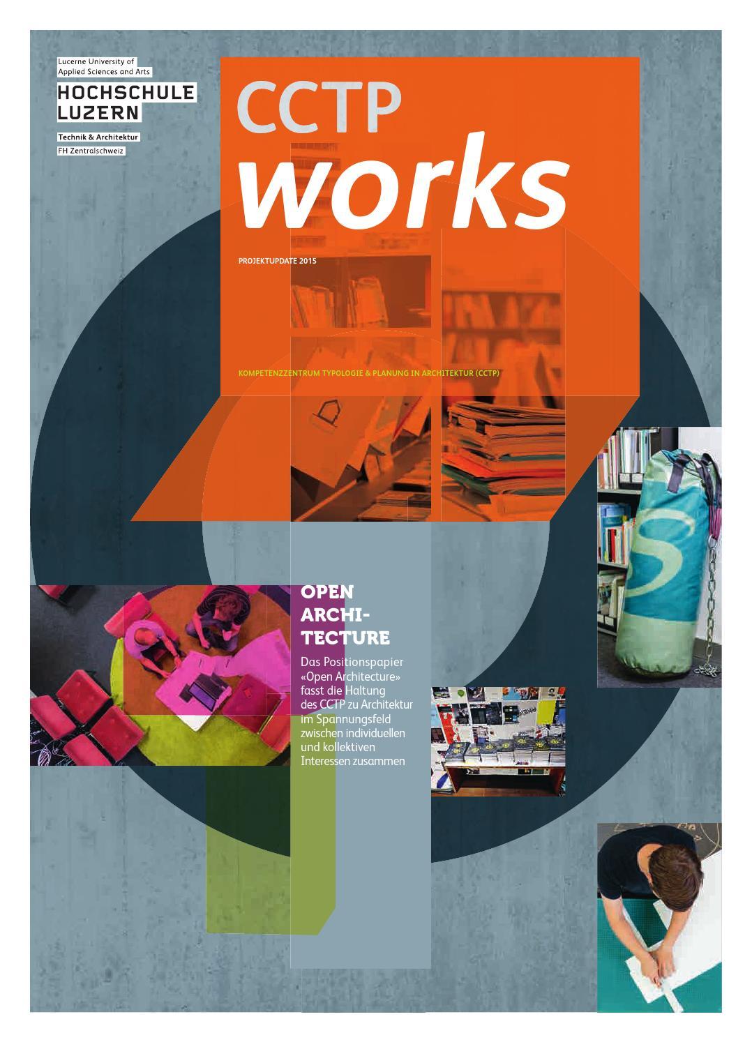 Cctp works 02 2016 by hochschule luzern issuu for Cctp architecte