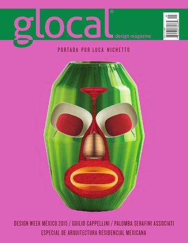 288296ec8 GLOCAL DESIGN MAGAZINE No. 29 Portada por / Cover by: LUCA NICHETTO ...