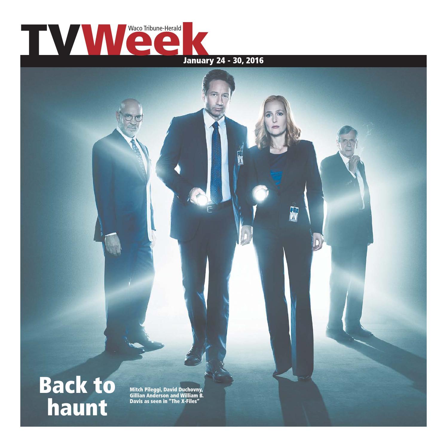 Tv week 1 22 16 by Wacotrib com - issuu