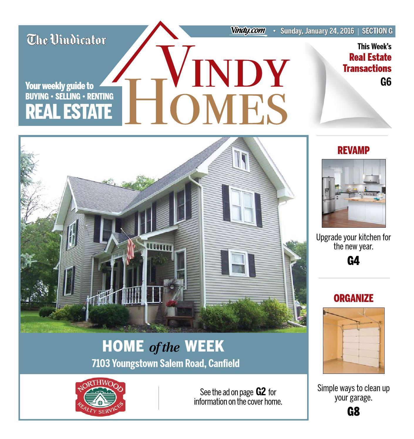 Vindy Homes - January 24, 2016 by The Vindicator - issuu