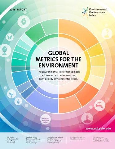 e2de531e4d Yale Environmental Performance Index - 2016 by Yale University - issuu