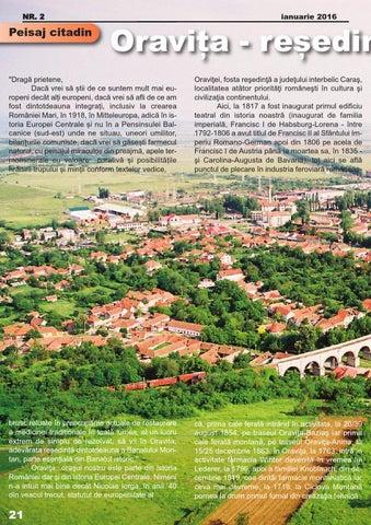Page 22 of Oravita - resedinta Banatului montan