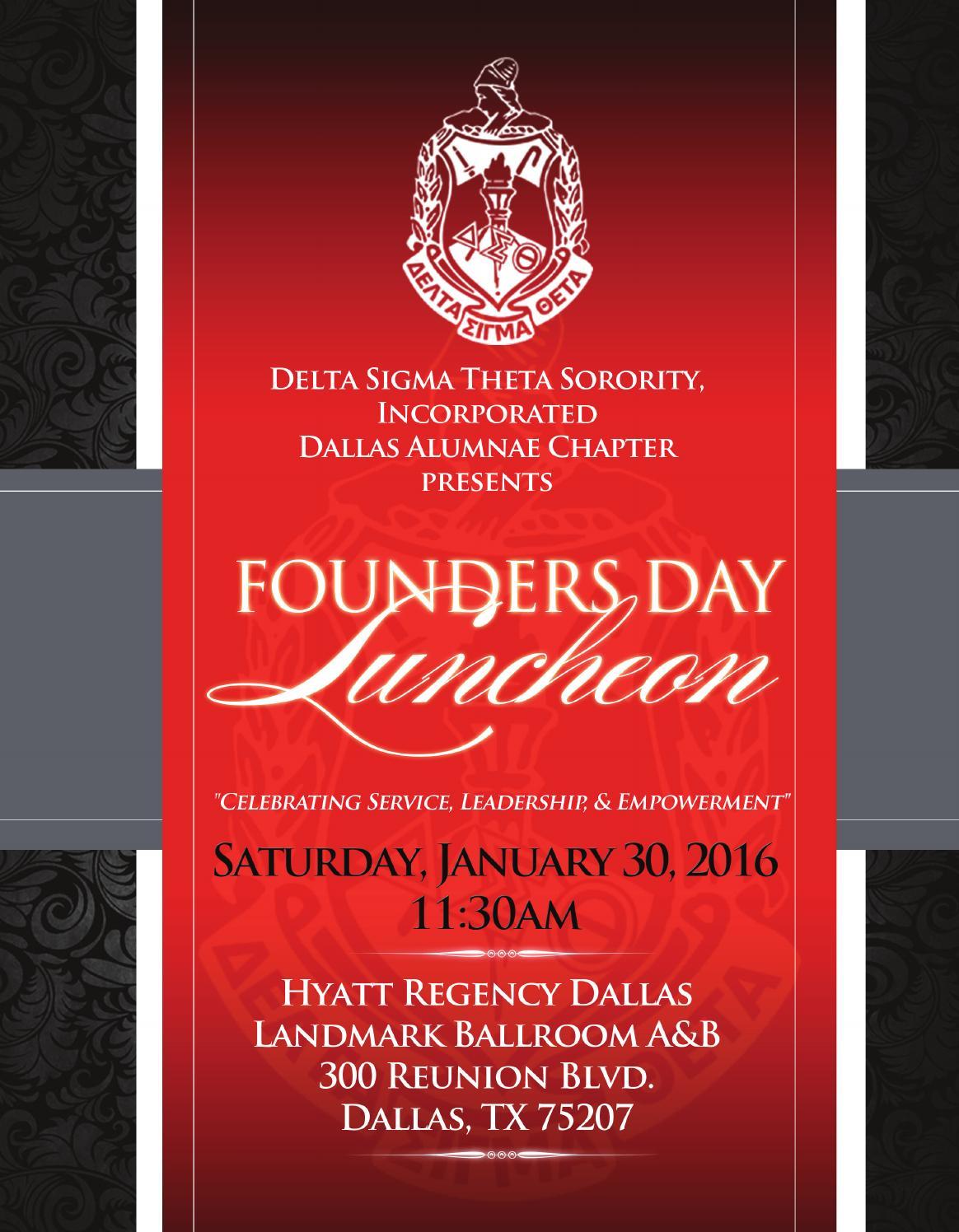 Delta Sigma Theta Sorority Inc Dallas Chapter By In House Media