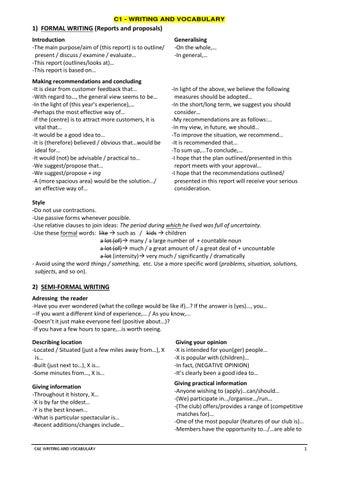 Introduction essay cae