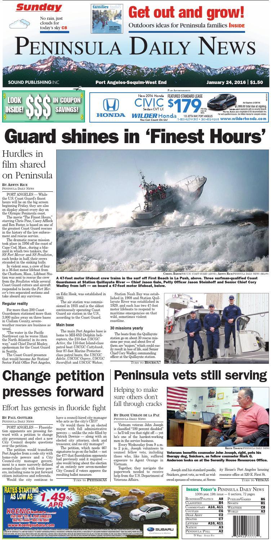 101ff1a0e17f PDN20160124C by Peninsula Daily News   Sequim Gazette - issuu