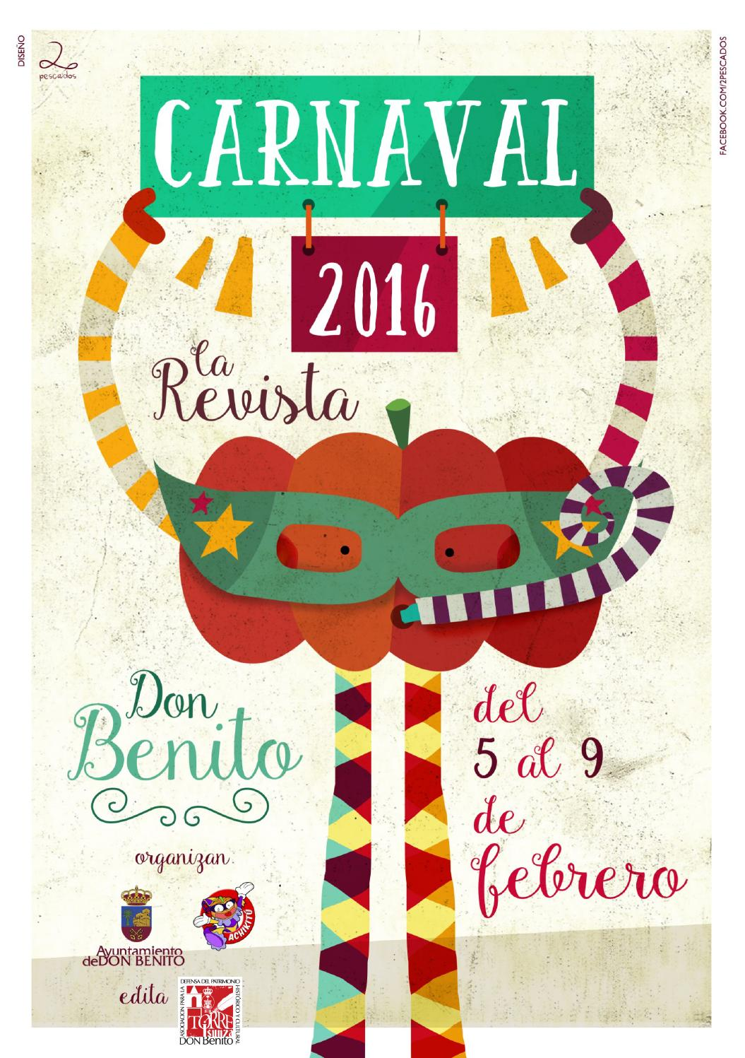 Carnaval 2016. La Revista by Asociación Torre Isunza - issuu de044a8988e