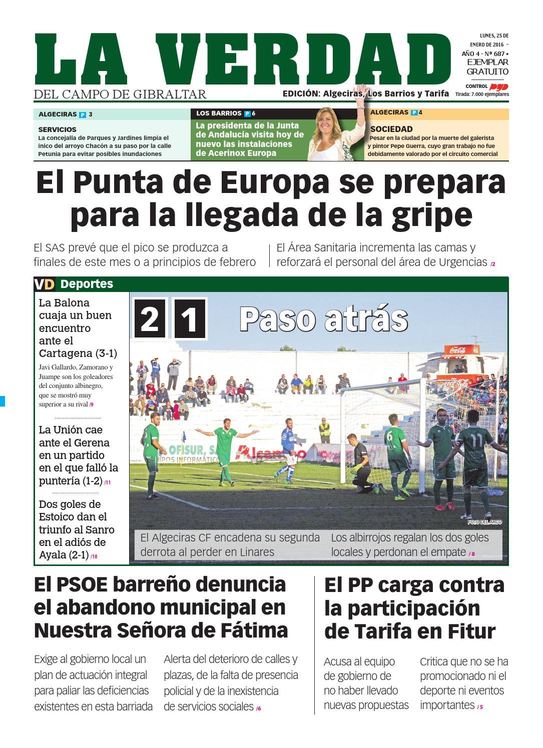 La verdad algeciras 25 enero 2016 by La Verdad del Campo de ...