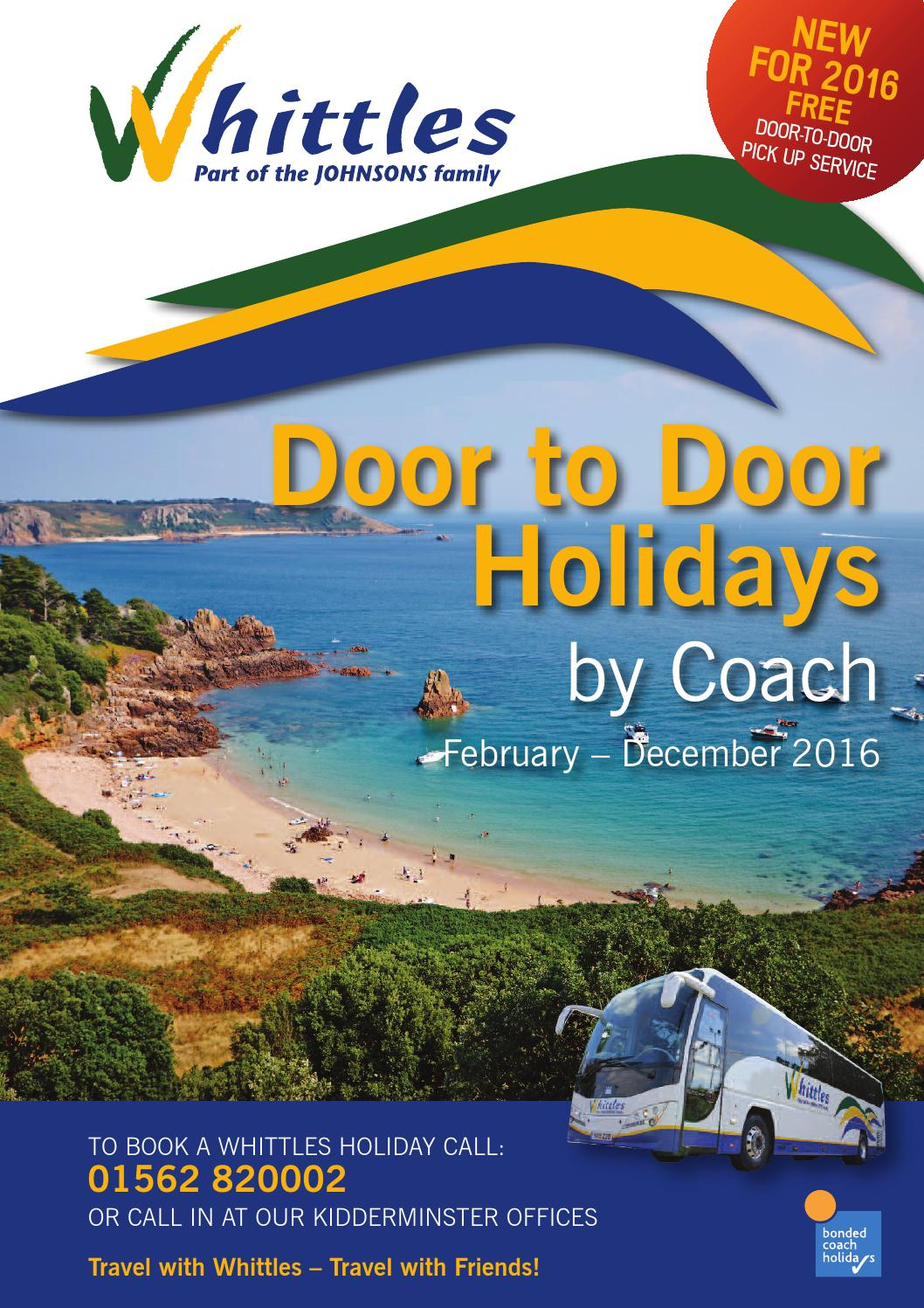 Whittles 2016 Holidays By Johnsons Coaches
