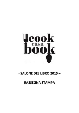 Rassegna stampa Casa Cookbook 2015 by Lingotto Fiere - issuu 87626d20396