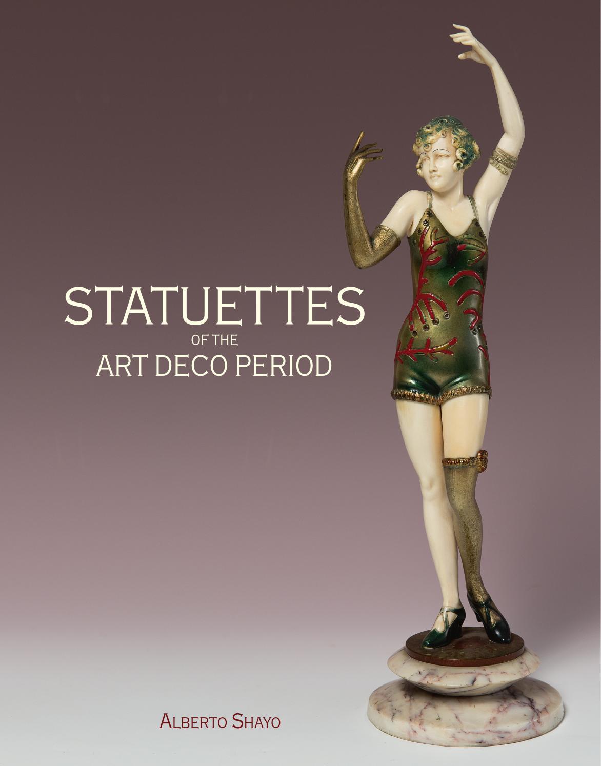 Statuettes art deco period by ACC