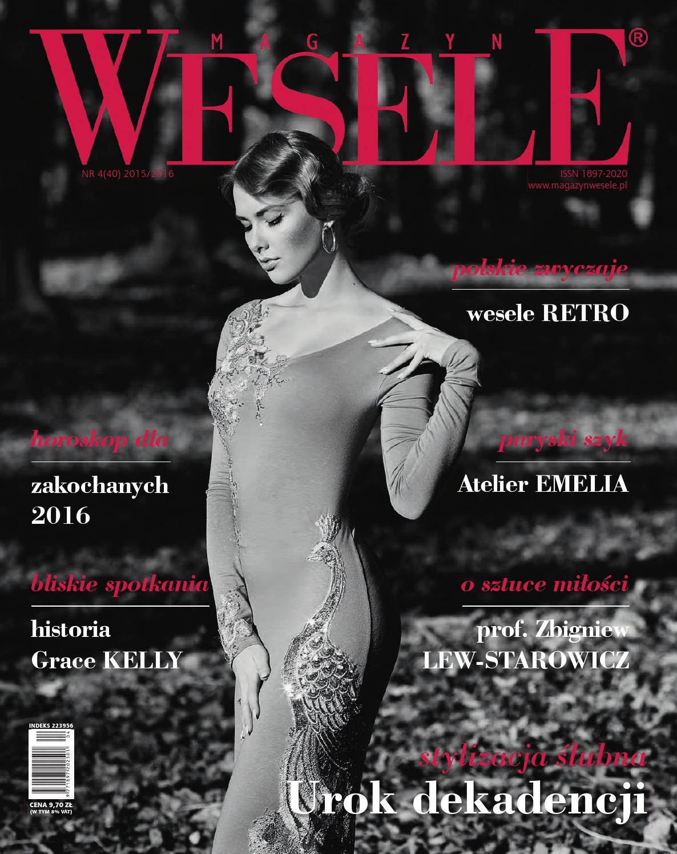 f098eeceeb Magazyn wesele 4 40 2016 by Magazyn Wesele - issuu