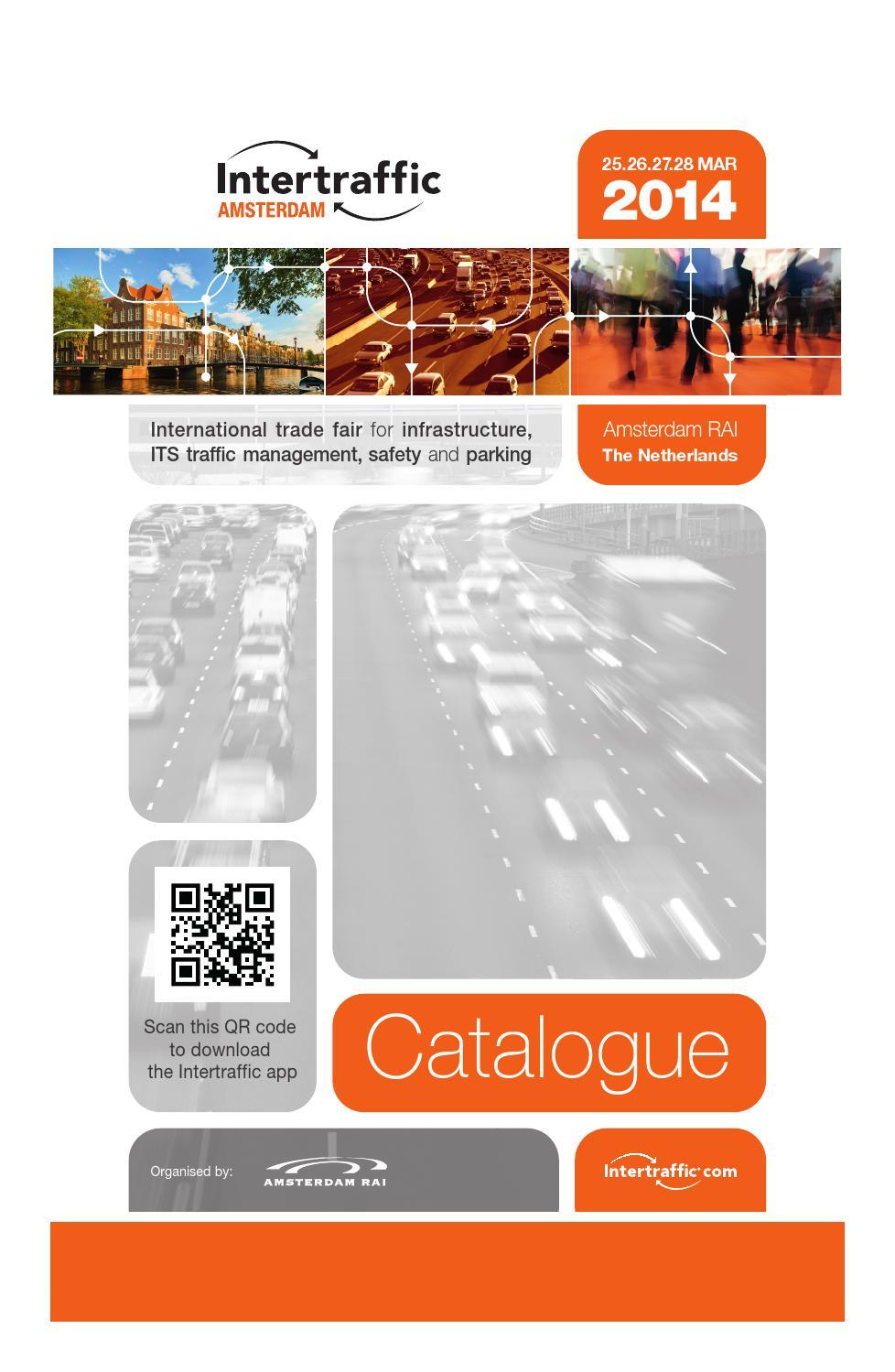 Intertraffic 2014 Catalogue By Rai Amsterdam Issuu