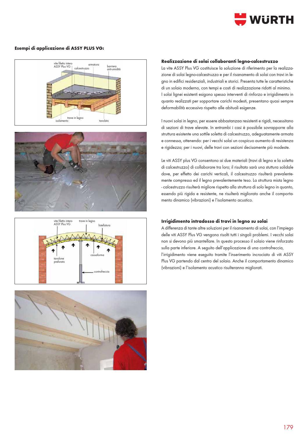 Struttura Di Un Solaio manuale per la carpenteria in legno by würth italia - issuu