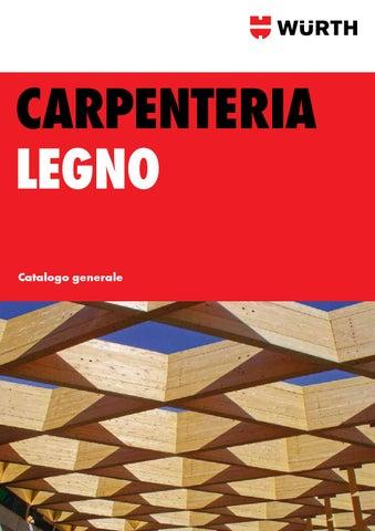 Catalogo Generale Carpenteria Legno By Würth Italia Issuu