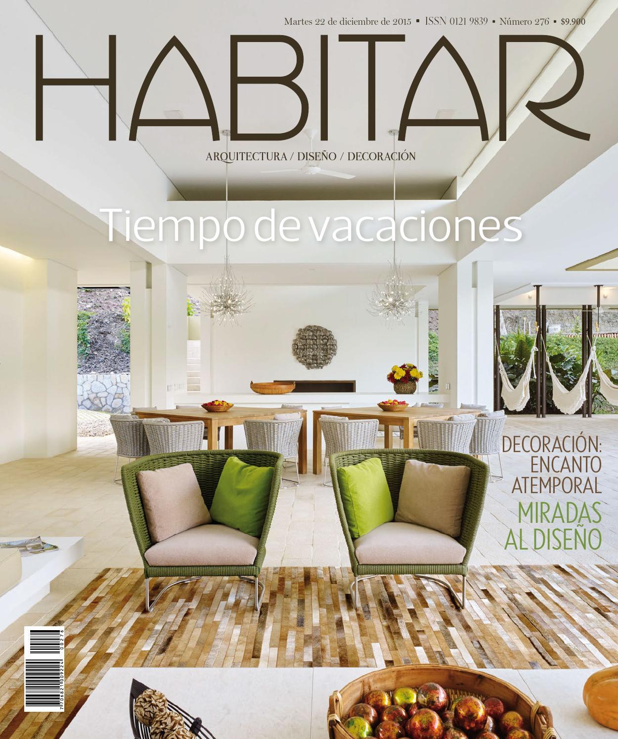 Habitar No. 276 - Diciembre 2015 by Revista Metrocuadrado - issuu