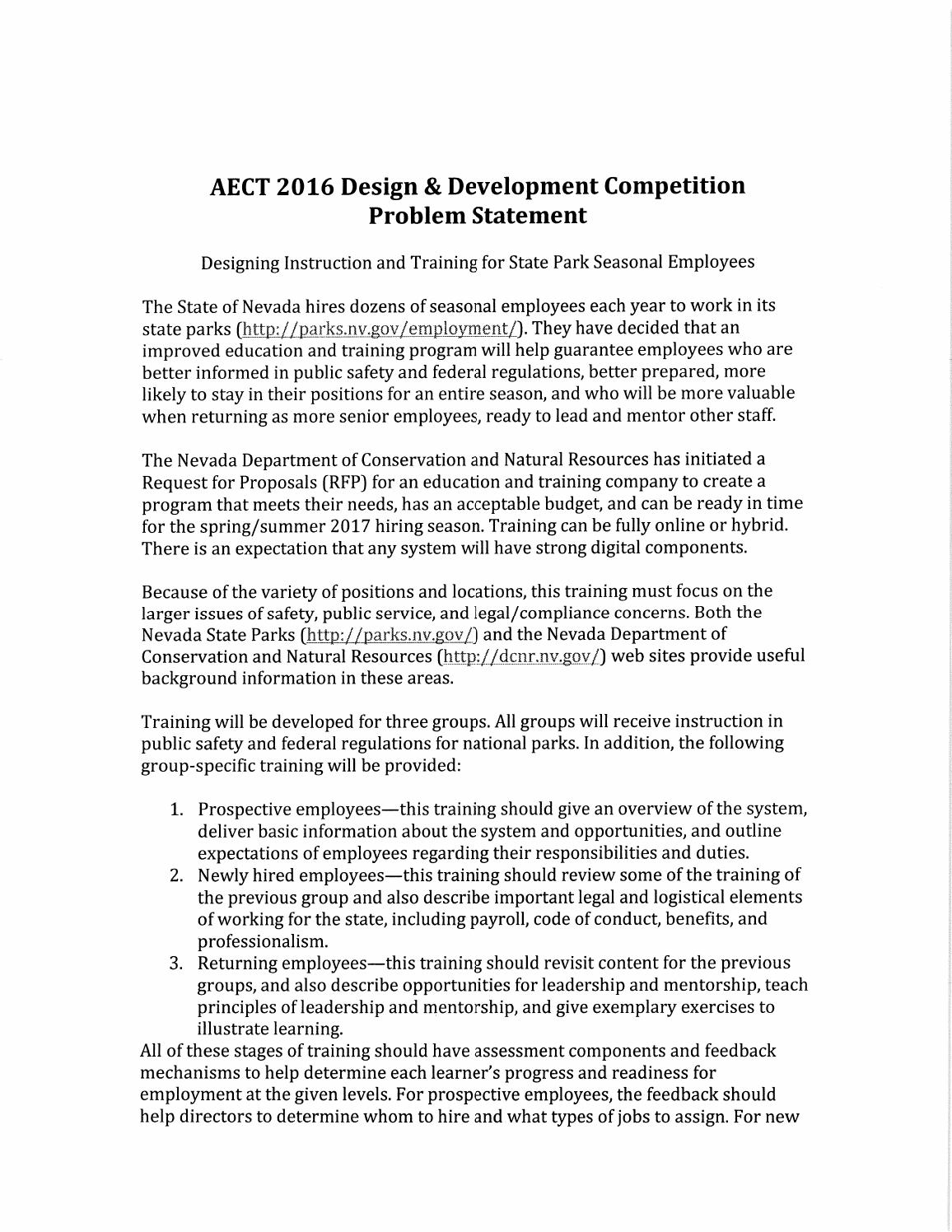 AECT 2016 PacifiCorp Competition Design Problem by ITFORUM