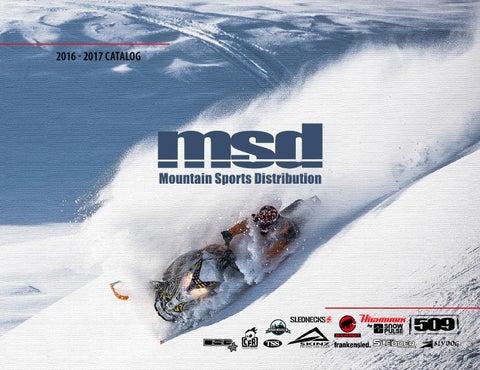 b81718660abfe Mountain Sports Distribution 2016-2017 Catalog by Mountain Sports ...