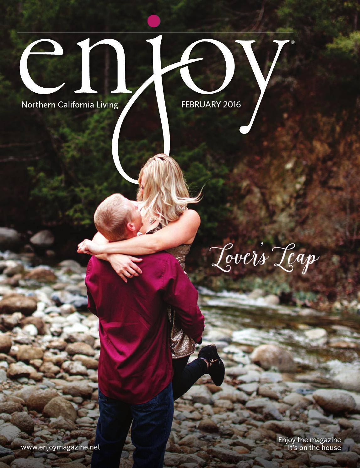 Enjoy Magazine Northern California Living February 2016