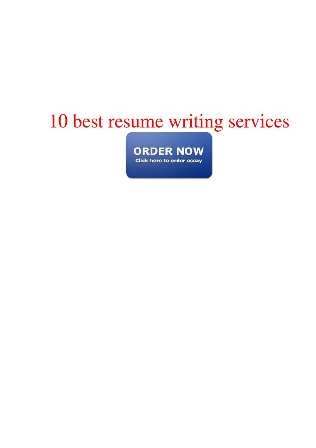 10 best resume writing service healthcare