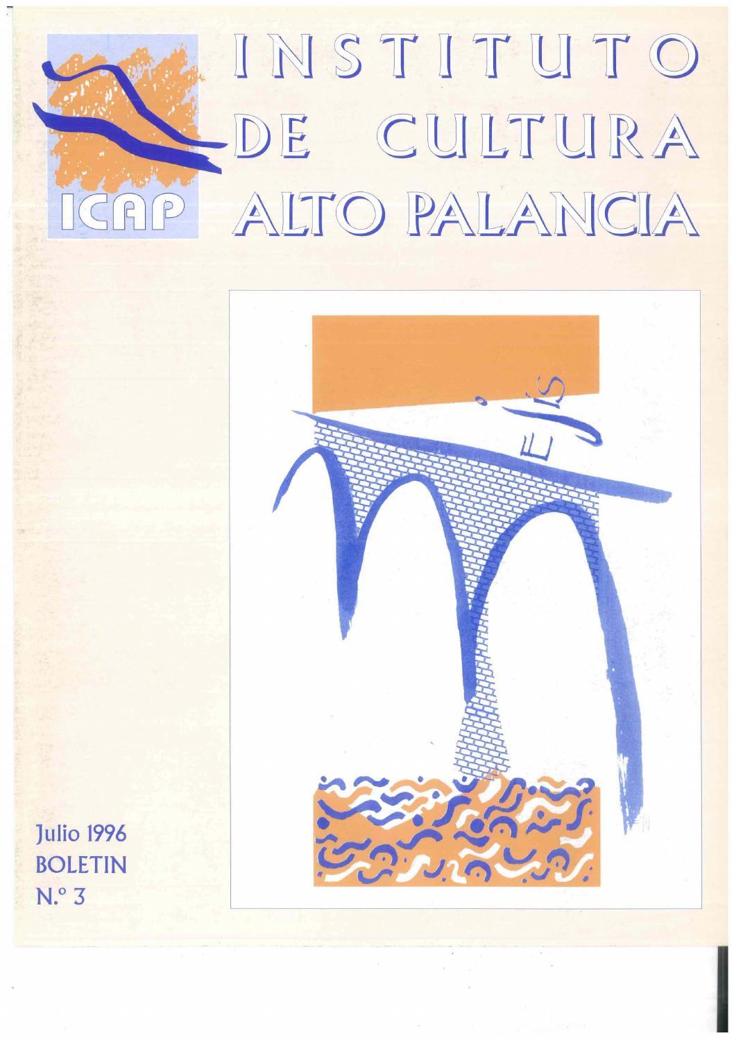 Boletín 3 del Instituto de Cultura del Alto Palancia (Julio 1996) by ...