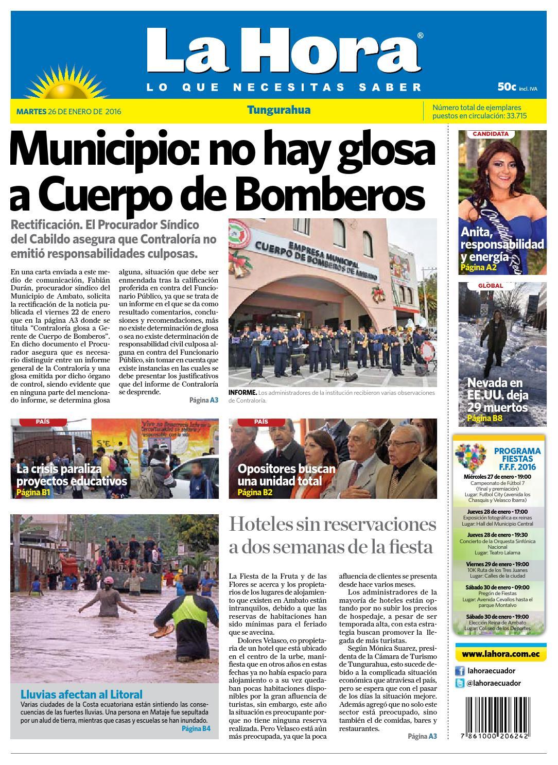 gaviones decorativos 2016 02 economicos de el mercurio bin Ambato26enero2016 by Diario La Hora Ecuador - issuu