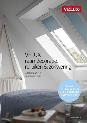 velux raamdecoratie brochure 2016 by velux nederland b v. Black Bedroom Furniture Sets. Home Design Ideas