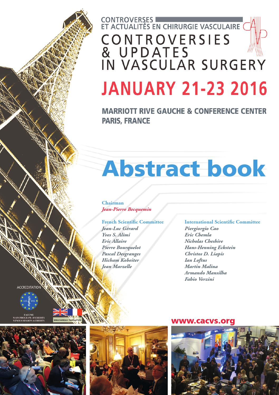 CACVS 2016 Abstract Book By Divine [id] Issuu