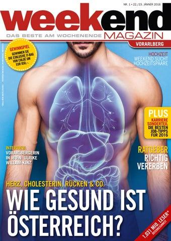 Weekend Magazin Vorarlberg 2016 KW 03 by Weekend Magazin
