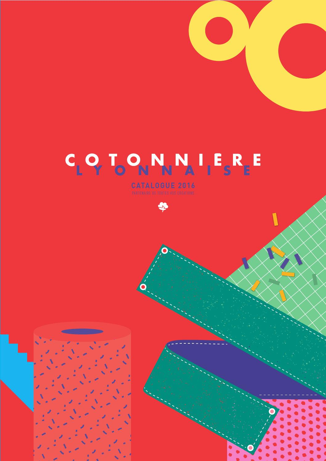 CATALOGUE issuu COTONNIÈRE LYONNAISE by 2016 extra N8vmn0w