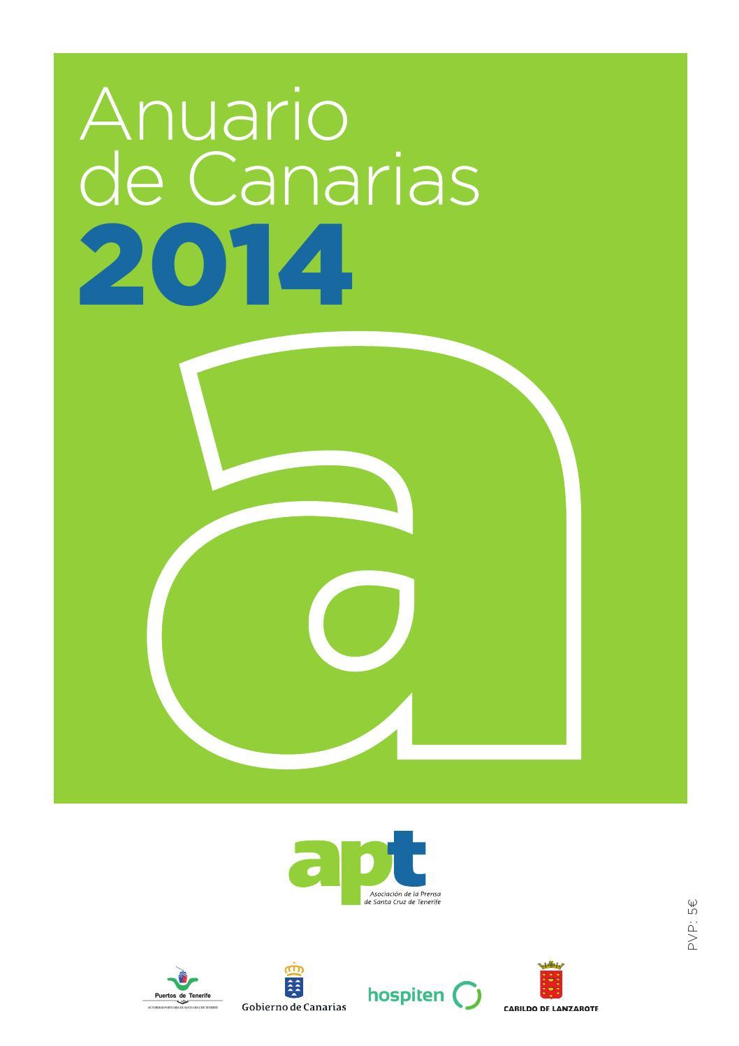 Anuario de Canarias 2014 by Asociación de la Prensa de Santa Cruz de ...