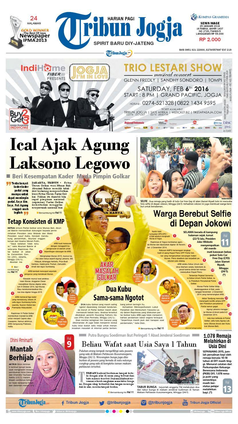 Tribunjogja 28 01 2016 By Tribun Jogja Issuu Fcenter Meja Rias Siantano Mr 905 Jawa Tengahdiyjawa Timur 25