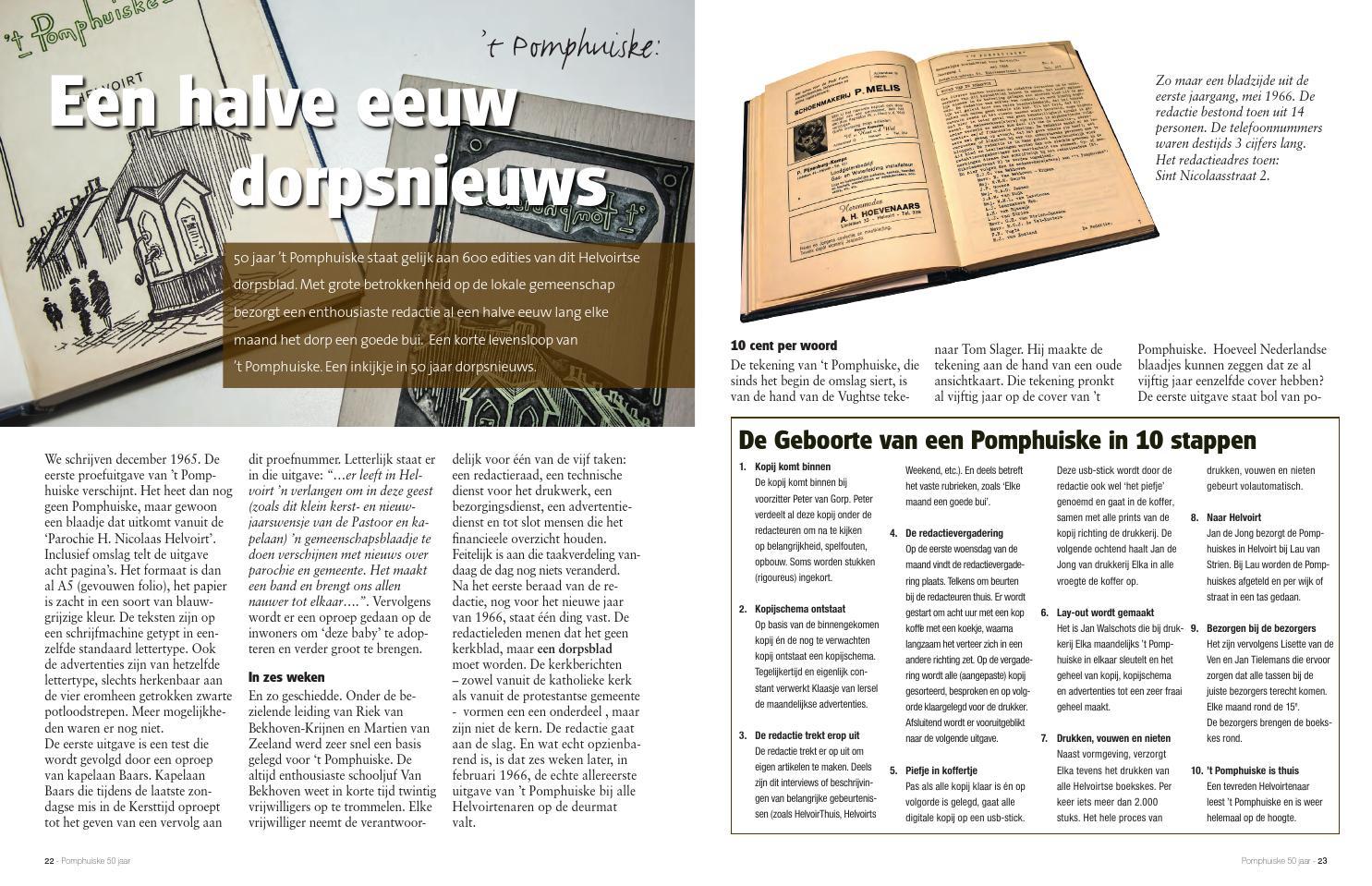 levensloop 50 jaar Glossy 'de Helvoirt' by 't Pomphuiske   issuu levensloop 50 jaar
