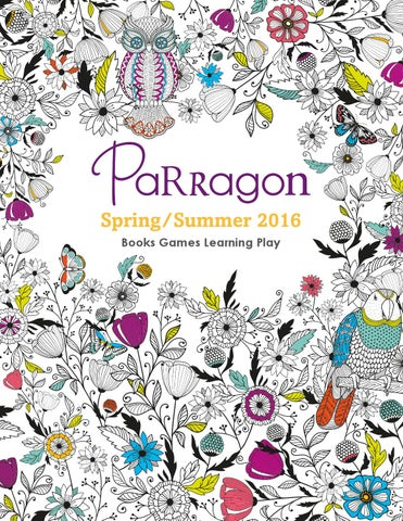 Spring Summer 2016 Books Games Learning Play