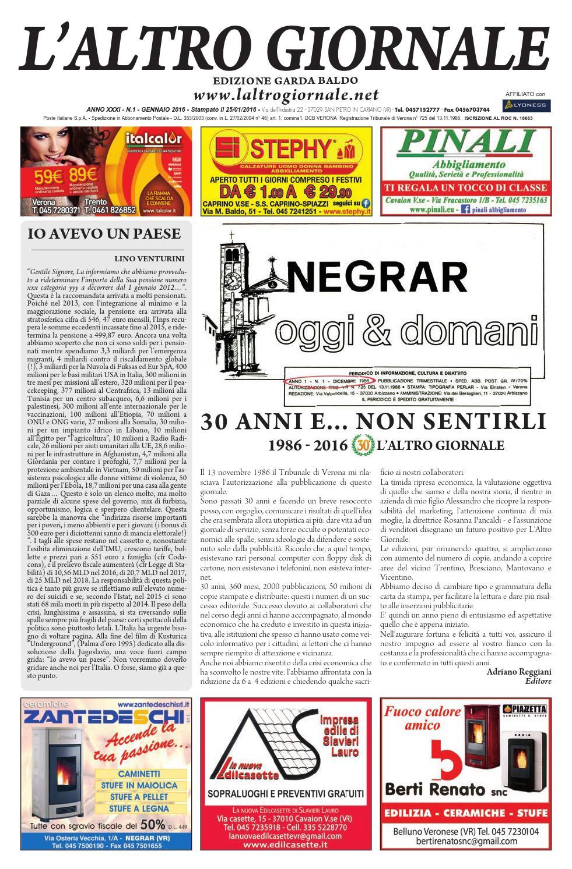 L altro Giornale Garda-Baldo - Gennaio 2016 by IsCharlie - issuu 453178aec20