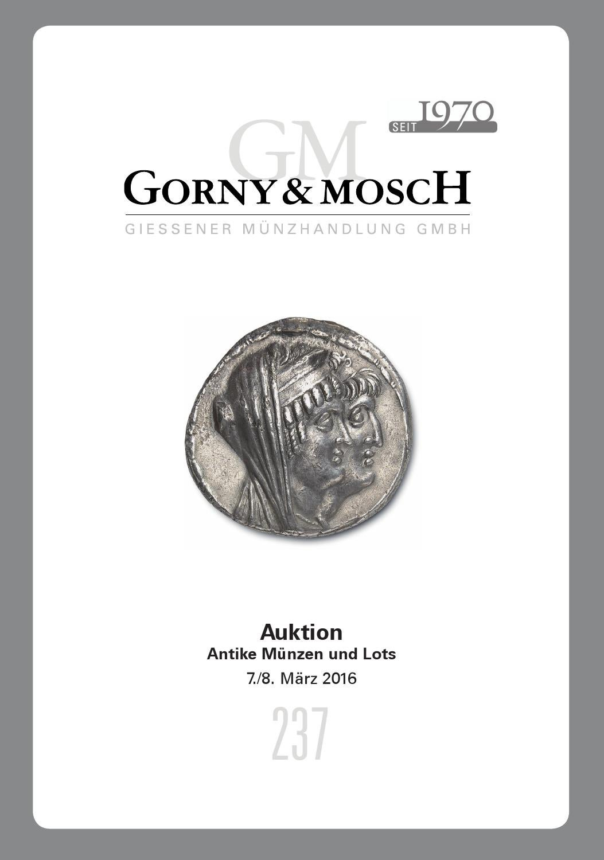 Gorny & Mosch Auktionskatalog 8 by Gorny & Mosch Giessener ...