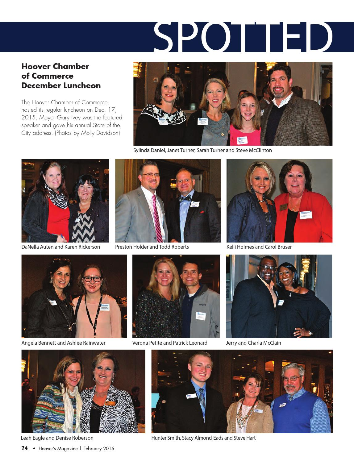 Hoover's Magazine February 2016 by Shelby County Newspapers