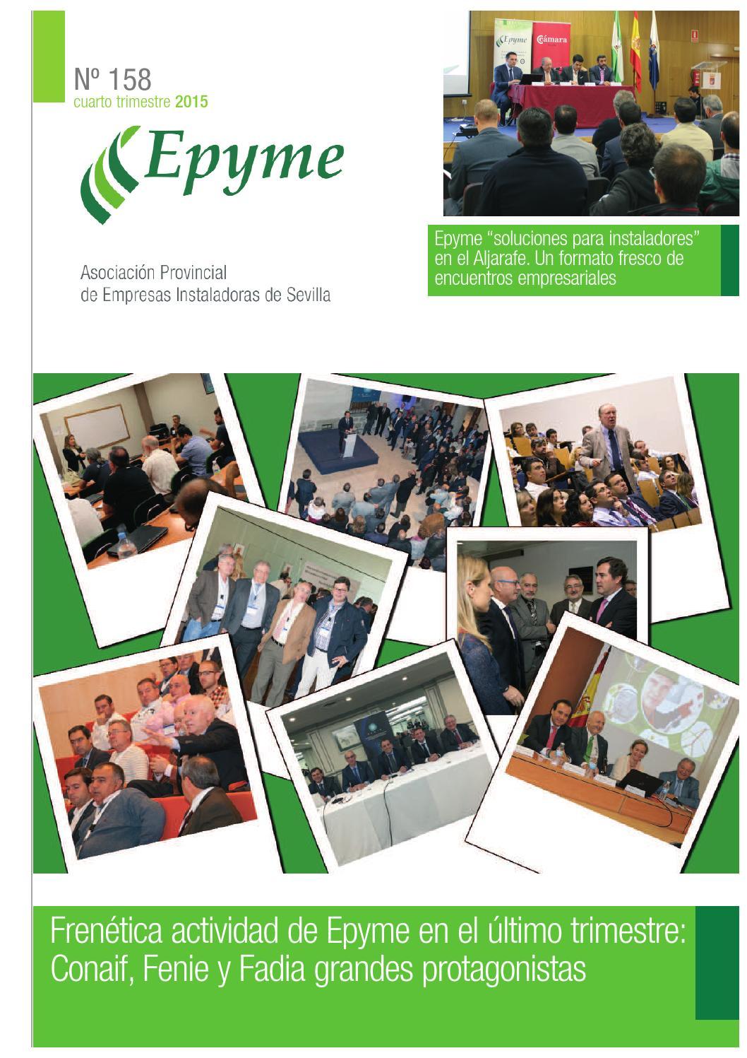 Revista Epyme 158 by Miguel Ruiz - issuu