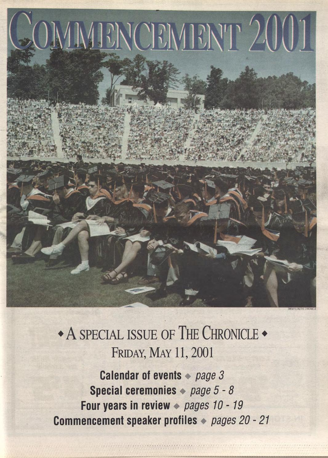 May 11 2001 by Duke Chronicle